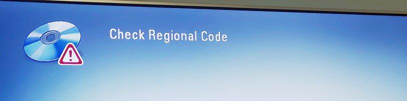 Check Regional Code
