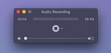 Audio Recording Mac