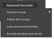 Exclude Window and Record