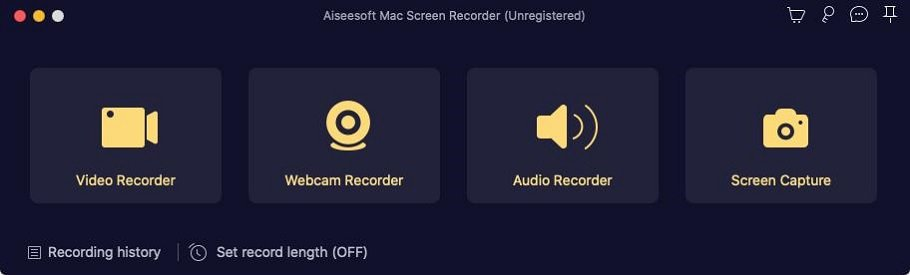 Mac Screen Recorder Functions