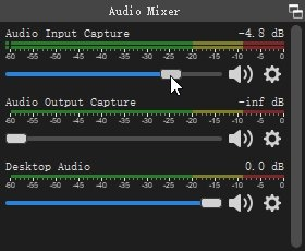 OBS Mute Audio Source