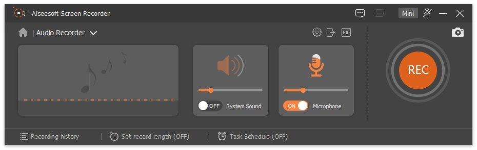 Record PowerPoint Audio Decide Audio Source
