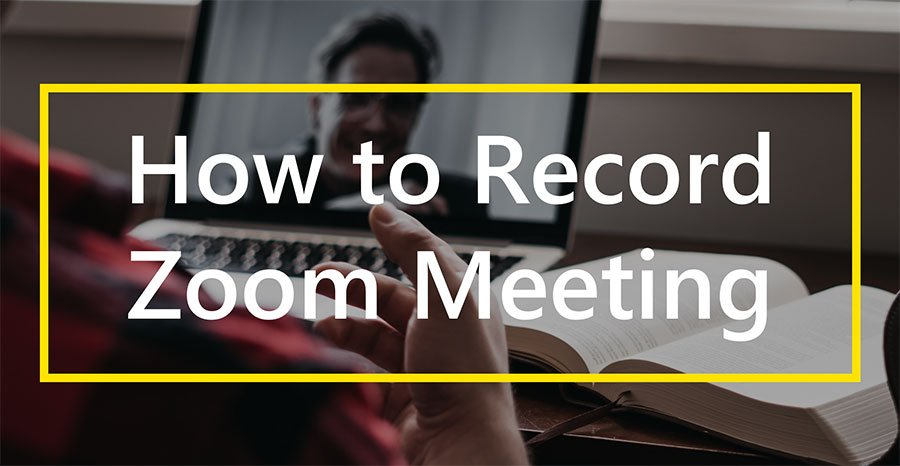 record zoom meeting banner