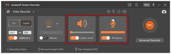 Set Recording Audio Source
