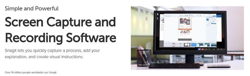 Snagit - Screen Capture and Recording Software