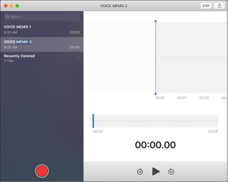 Voice Memo Record Audio
