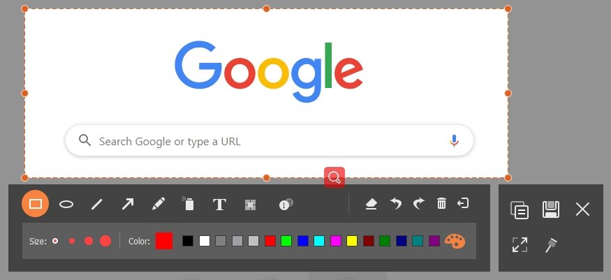 Chrome Screenshot Capture Webpage