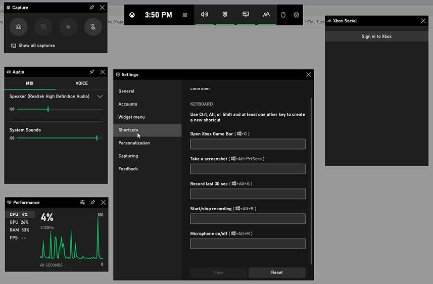 Clip Fortnite Xbox Game Bar Settings