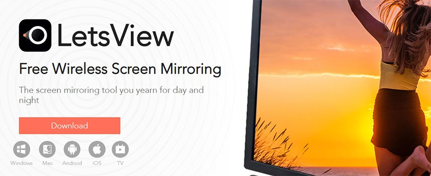 Screen Mirror iPhone with LetsView