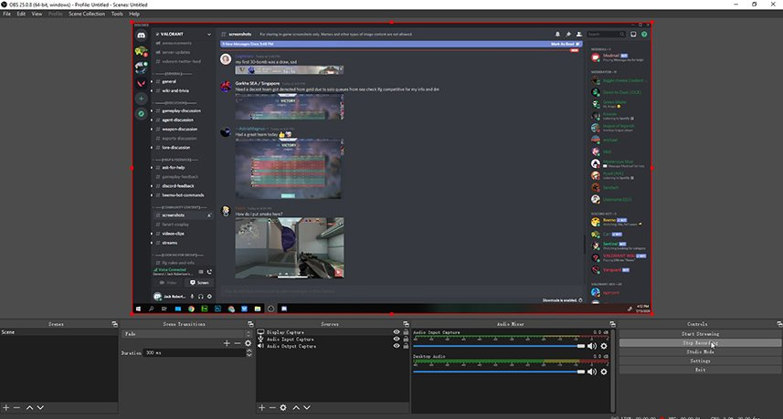 Record Discord with OBS