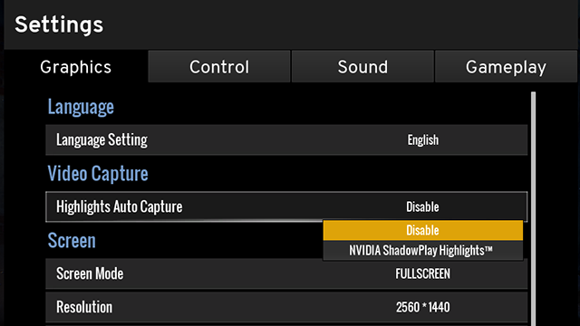 Record Fortnite Highlight ShadowPlay
