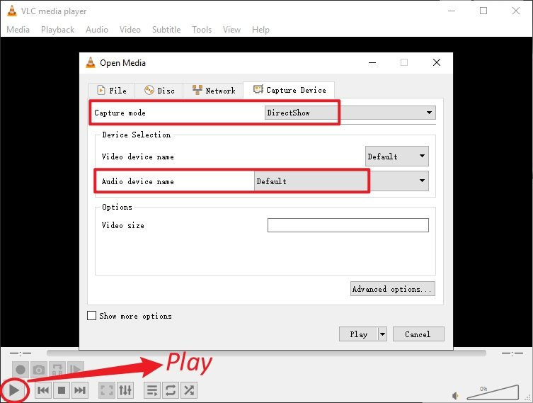 Record Video Audio Play