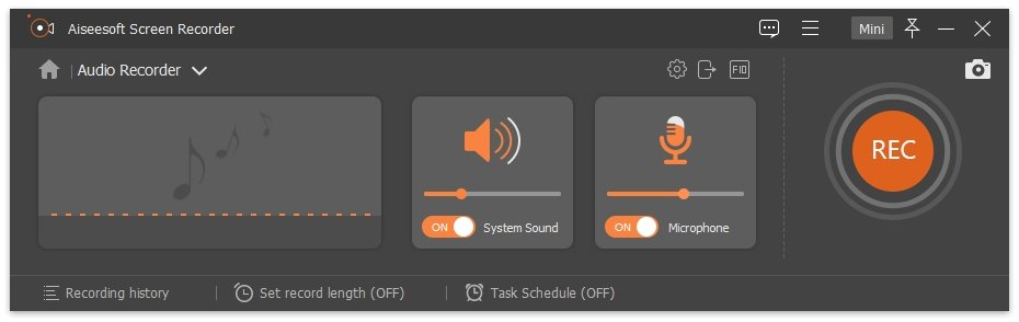 Screen Recorder Audio Recorder