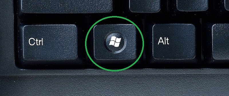 Windows Logo Button