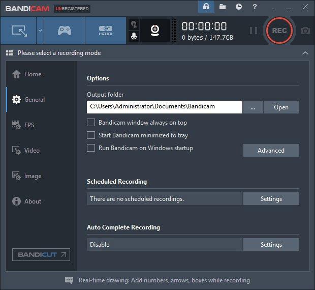 Bandicam Webcam Recorder