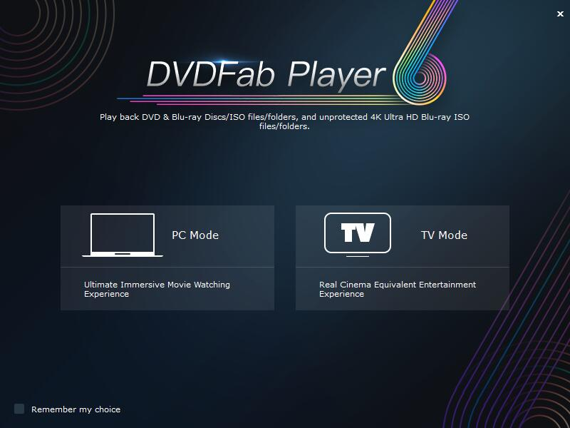 DVDFab Player Play Blu Ray