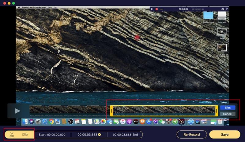 Mac Screen Recorder Preview Trim Save Recordings