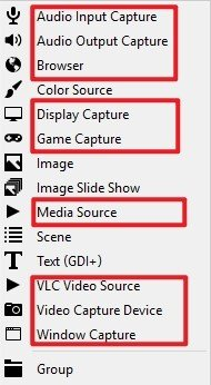 OBS Record Sources
