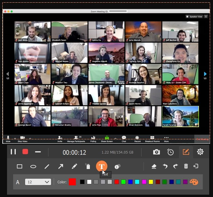 Screen Recorder Record A Meeting