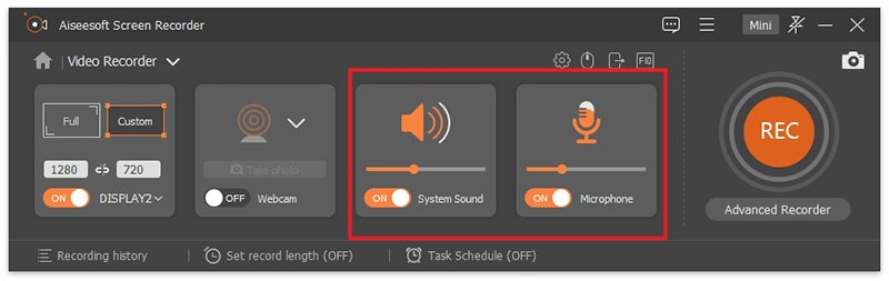 Screen Recorder Decide Audio OBS Window Capture