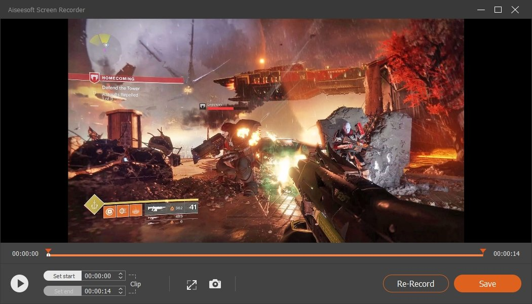 Screen Recorder Preview Destiny 2 Recordings