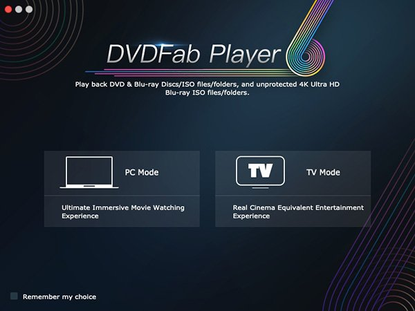 DVDFab Mac Player 6