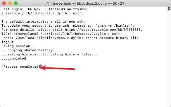 Install libdvdcss.2.dylib on Mac