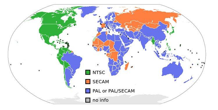 NTSC vs PAL DVDs