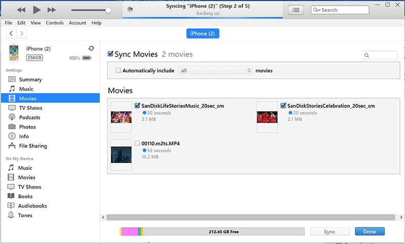 Use iTunes Watch DVD on iPhone