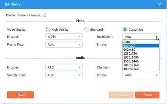 Custom Profile for iPad-to-DVD