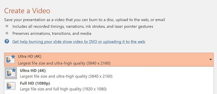 Turn Slideshow to Video