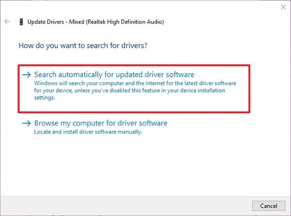 Update Drives on Windows Auto Search Latest Drive for Windows Media Player