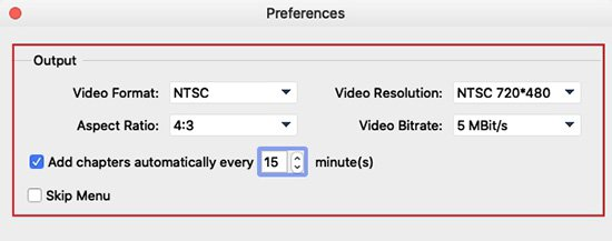 Decide Video Properties for QuickTime Movie Files to Burn to DVD on Mac