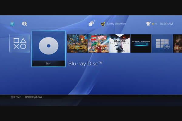 Play Blu-ray Disc on PS3