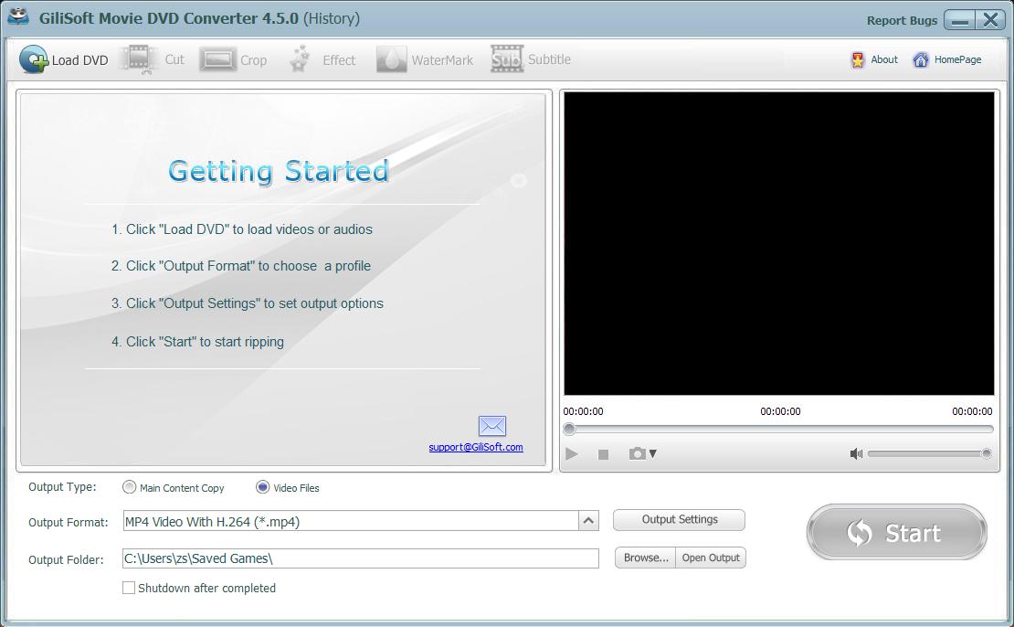 Gilisoft Movie DVD Converter