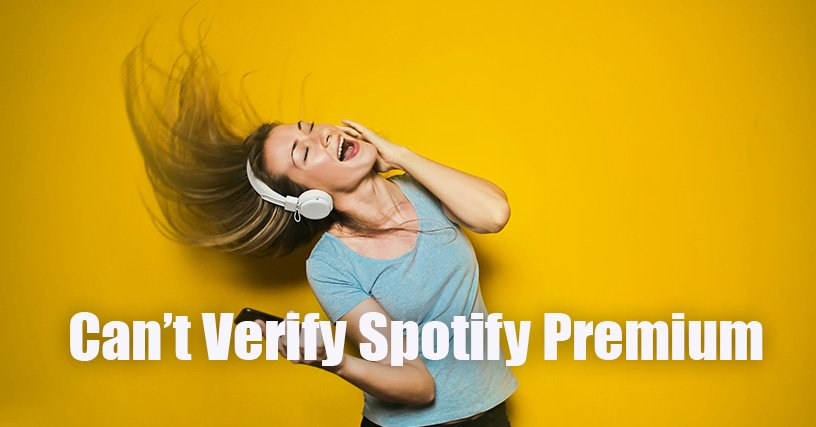 Can't Spotify Verify Student Status