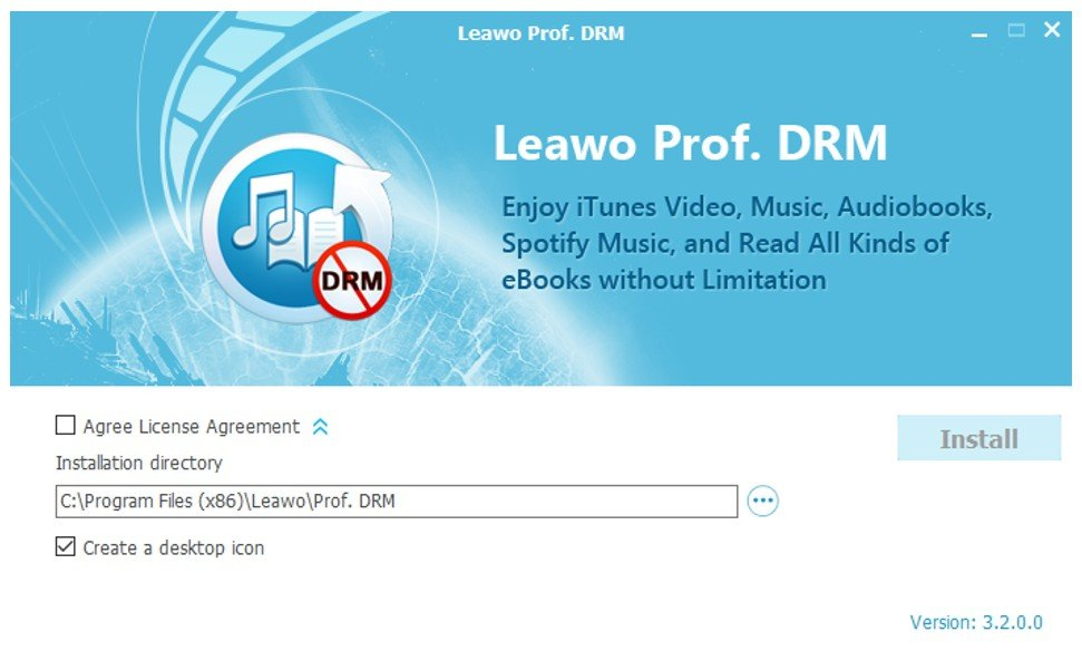 Installation Interface Of Prof.drm