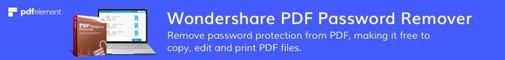 Удалить PDF пароль за секунду
