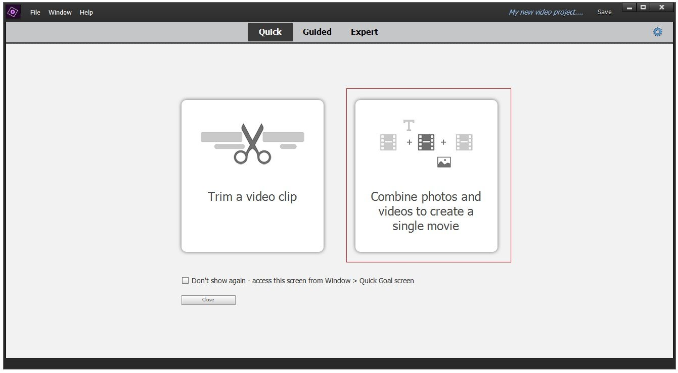 The Interface Of Workspace Of Video Editor